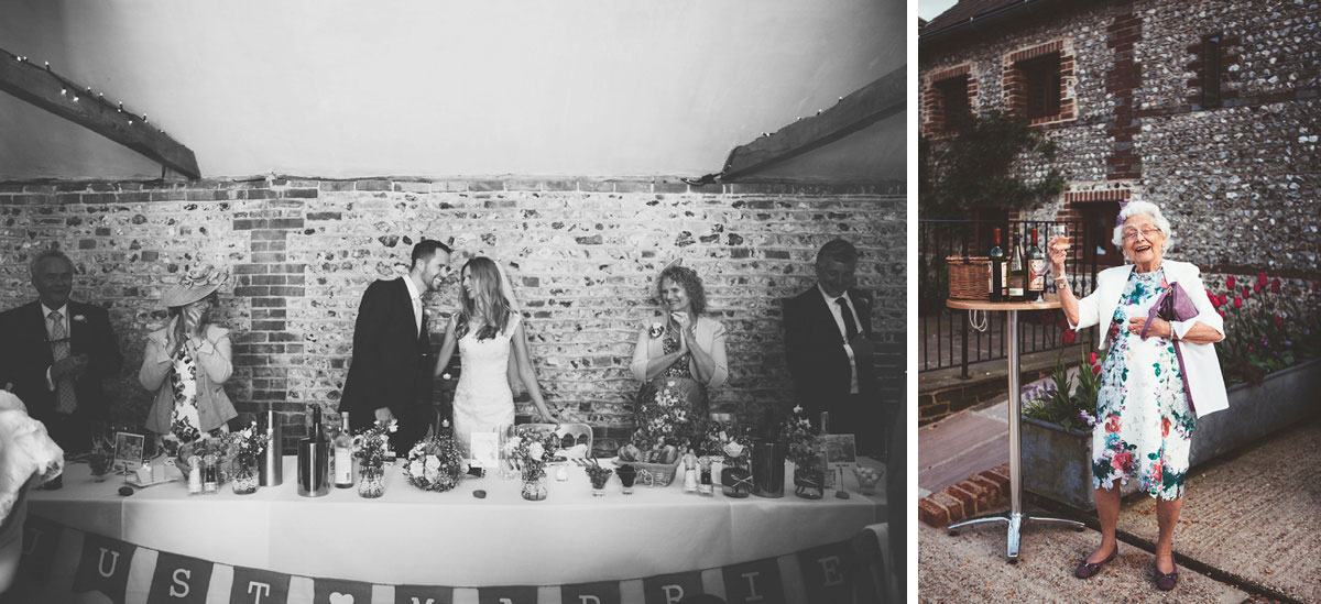 upwaltham barns chichester wedding